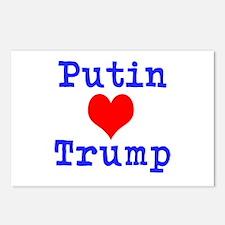 Putin Loves Trump Postcards (Package of 8)