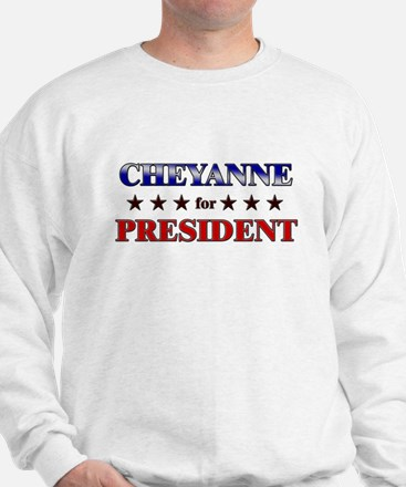 CHEYANNE for president Sweater