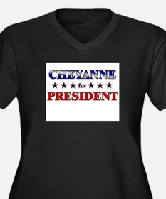 CHEYANNE for president Women's Plus Size V-Neck Da