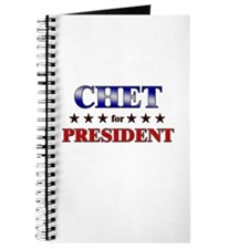 CHET for president Journal