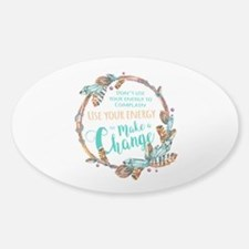 Make a Change Wreath Decal