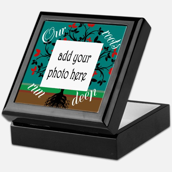 Our roots run deep: personalize Keepsake Box