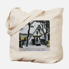 Cute Van gogh christmas Tote Bag