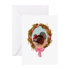 Turkey Wreath Greeting Card