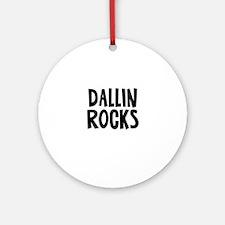 Dallin Rocks Ornament (Round)
