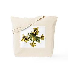 Flying Frog Tote Bag