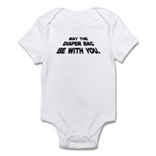 May the Diaper Bag be with Yo Infant Bodysuit