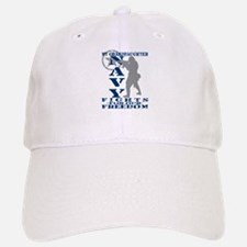 Grnddghtr Fights Freedom - NAVY Baseball Baseball Cap