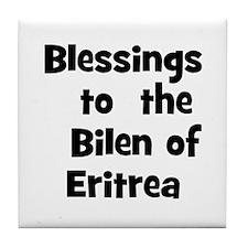 Blessings  to  the  Bilen of  Tile Coaster