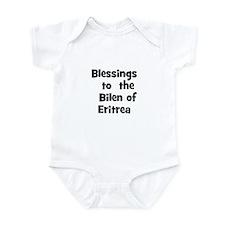 Blessings  to  the  Bilen of  Infant Bodysuit