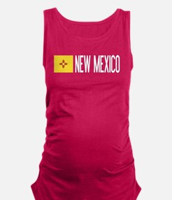 New Mexico: New Mexican Flag & Maternity Tank Top