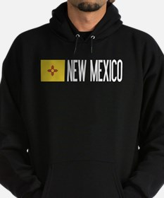 New Mexico: New Mexican Flag & New M Hoodie (dark)