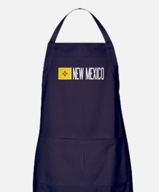 New Mexico: New Mexican Flag & New Me Apron (dark)