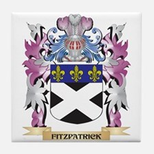 Fitzpatrick Coat of Arms (Family Cres Tile Coaster