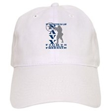 Dghtr-n-Law Fights Freedom - NAVY Baseball Cap