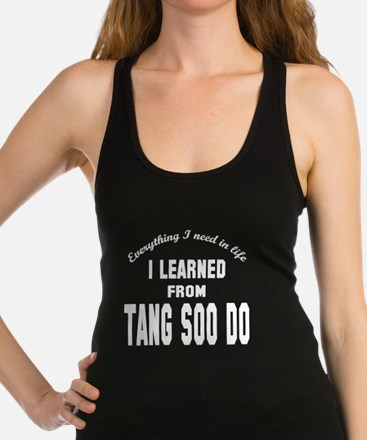 Everything I need in life, I le Racerback Tank Top