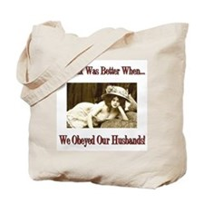 Obey Your Husband Rope & Chains Tote Bag