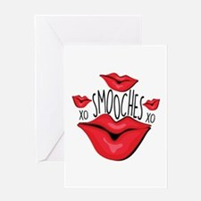 Smooches Greeting Cards
