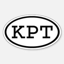 KPT Oval Oval Decal
