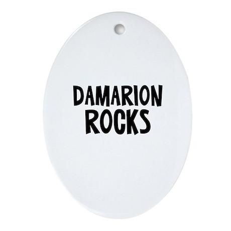 Damarion Rocks Oval Ornament