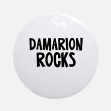 Damarion Rocks Ornament (Round)