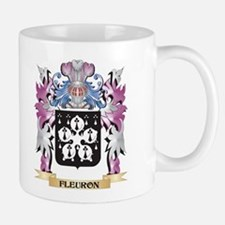 Fleuron Coat of Arms (Family Crest) Mugs