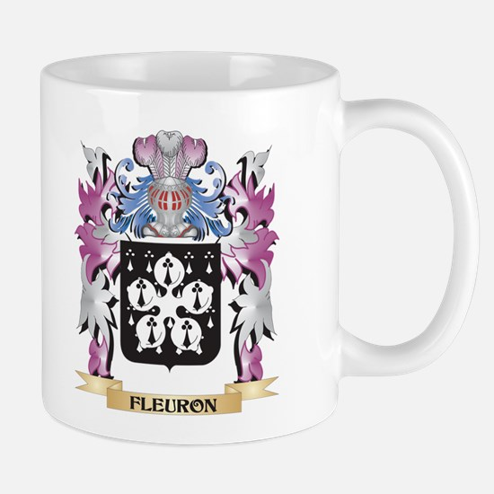 Fleuron Coat of Arms (Family Crest) Mugs