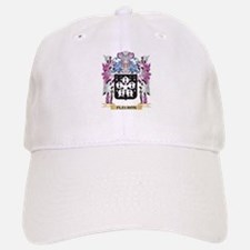 Fleuron Coat of Arms (Family Crest) Baseball Baseball Cap