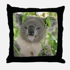 Helaine's Koala Bear Throw Pillow