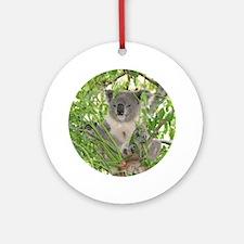 Helaine's Koala Bear Ornament (Round)