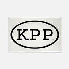 KPP Oval Rectangle Magnet