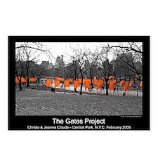 "Central Park, New York ""Gates"" Pkg. of 8 Postcards"