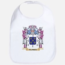 Flores Coat of Arms (Family Crest) Bib