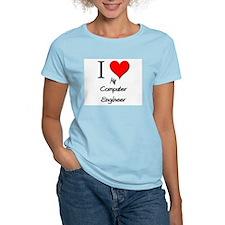I Love My Computer Engineer T-Shirt