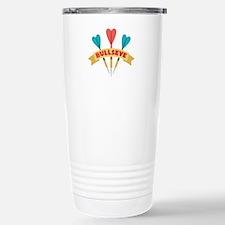 Darts Bullseye Travel Mug