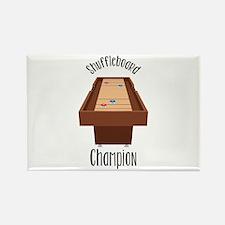 Shuffleboard Champion Magnets