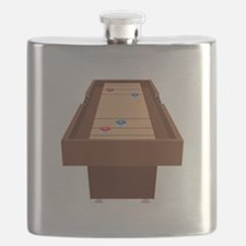 Shuffleboard Table Flask