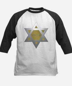 Silver and Gold Jewish Star Tee
