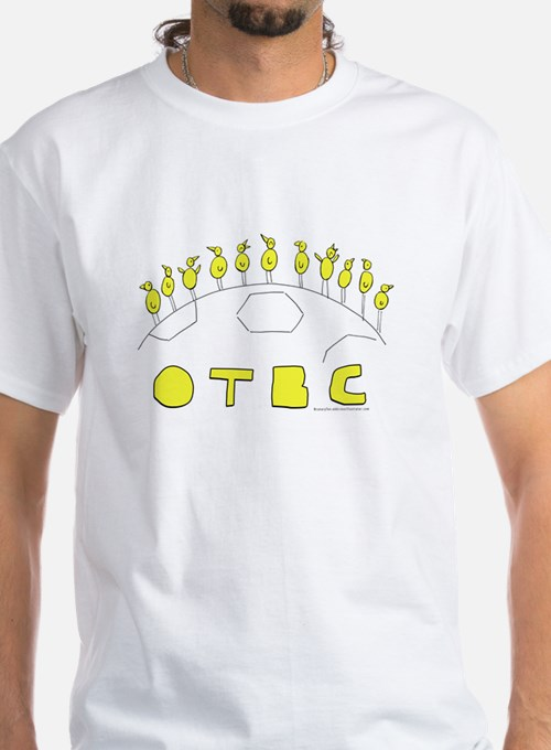 OTBC On the Ball City Canaries on a football T-Shi