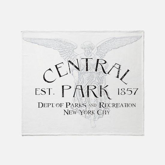 Cute Central park Throw Blanket