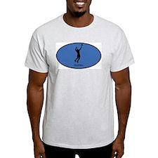 Mens Volleyball (euro-blue) T-Shirt