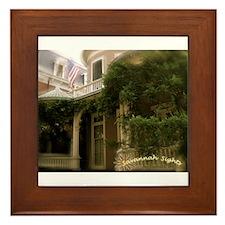Savannah Sights Framed Tile