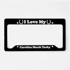 I Love My Carolina Marsh Tacky Horse License Plate