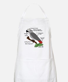 Anatomy of an African Grey Parrot Apron