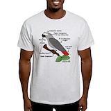 African greys Light T-Shirt