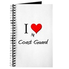 I Love My Coast Guard Journal