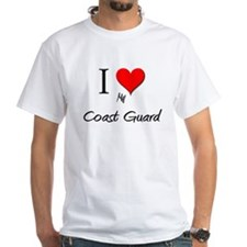 I Love My Coast Guard Shirt