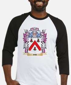 Foi Coat of Arms (Family Crest) Baseball Jersey