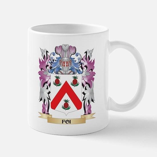 Foi Coat of Arms (Family Crest) Mugs