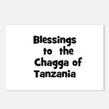 Blessings  to  the  Chagga of Postcards (Package o
